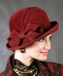 Шляпы из велюрового фетра