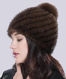 купить шапку из меха норки в интернет магазине мир шапок санкт
